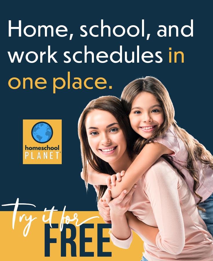 Try the World's Best Homeschool Planner for FREE!