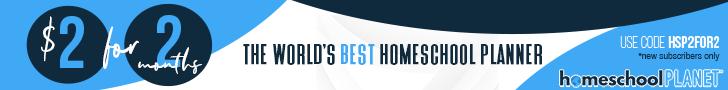 Get the World's Best Homeschool Planner - 2 Months for Just $2!